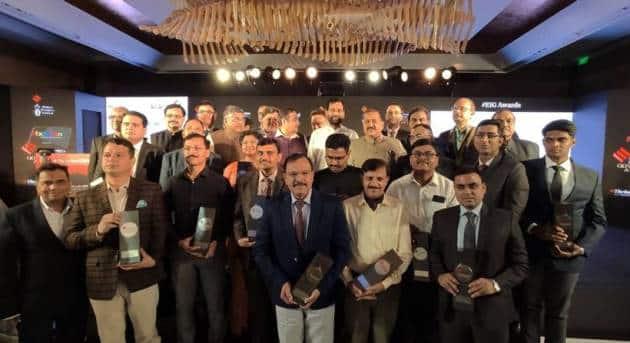 Indian Express governance awards, Indian express awards for governance, Indian Express governance awards photos, nitin gadkari, ram vilas paswan, ravi shankar prasad, indian express news