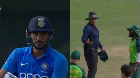 Axar Patel, Umpire Virender Sharma, Virender Axar, Virender changes decision, India A vs South Africa A 2nd ODI, IND A vs SA A 2nd ODI, cricket news, umpiring blunders