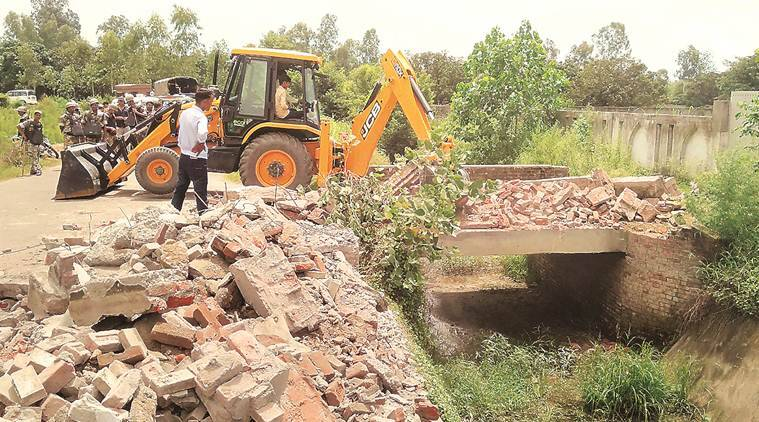 Wall of resort owned by Azam Khan's son in UP demolished