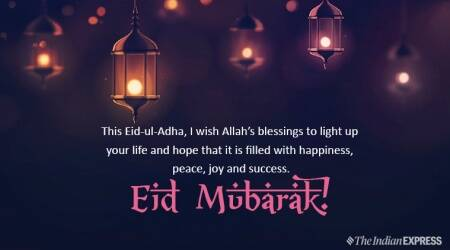 eid al adha 2019, happy eid al adha, happy eid al adha 2019, eid mubarak, eid mubarak 2019, eid al adha, bakrid, bakrid wishes, bakrid mubarak, bakrid wishes images, bakrid wishes pics, eid, indian express news