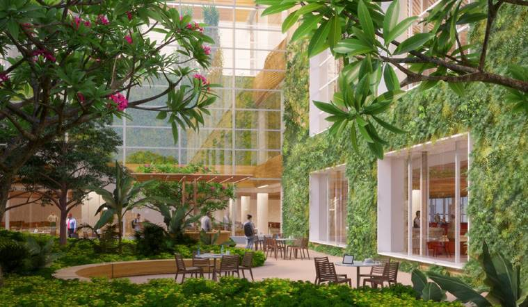 Bangalore-Bengaluru-airport-terminal-t-2-garden
