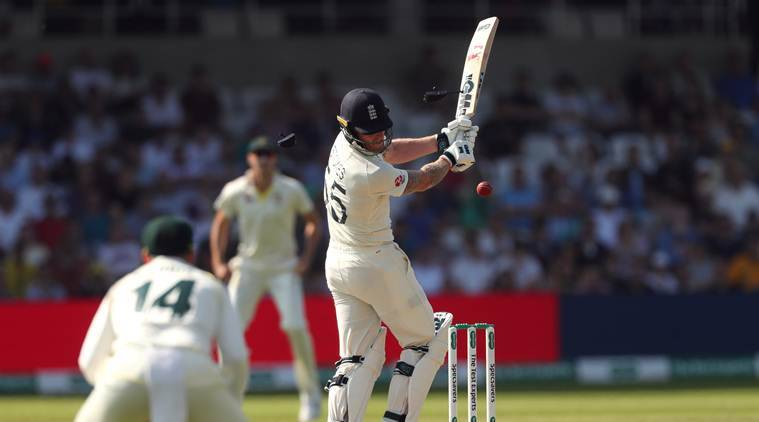 Ashes 2019: Ben Stokes's helmet shatters after vicious Josh Hazlewood bouncer