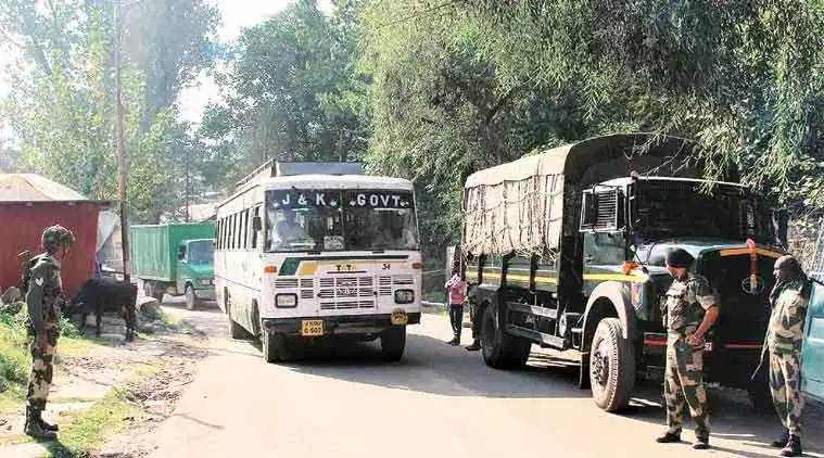 Poonch-Rawalakot bus suspended, Poonch-Rawalakot bus stopped, india pakistan bus services suspended, jammu and kashmir
