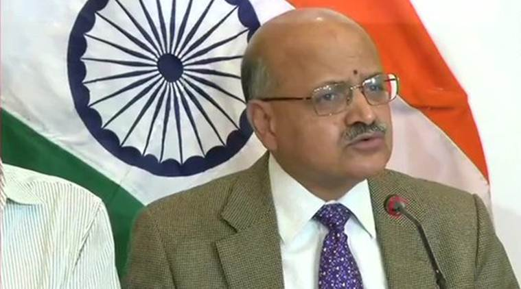 BVR Subrahmanyam, j-k chief secretary, restriction in j-k lifted, article 370 abrogated, revocation of special status of article 370, india news
