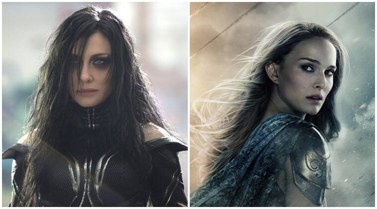 Cate Blanchett natalie portman female thor