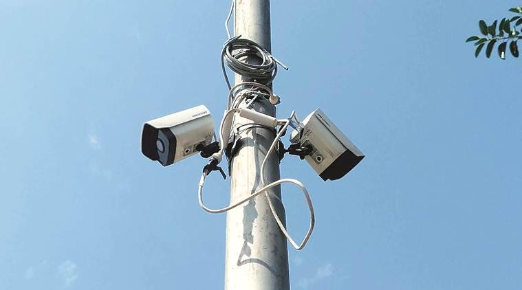 delhi cctv project, cctv project delhi, delhi government, penalty imposed on bel, cctvs in delhi, arvind kejriwal, delhi news, indian express news
