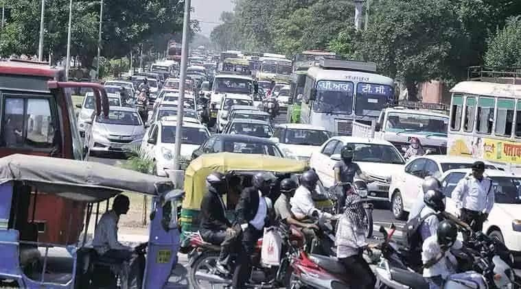 chandigarh news, chandigarh pollution, chandigarh vehicle pollution, chandigarh air pollution, chandigarh traffic