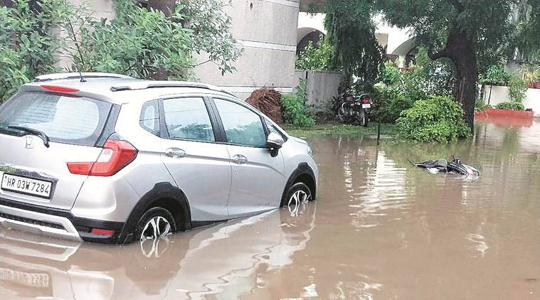 Chandigarh: Improper drainage system remains a problem in Sector 8