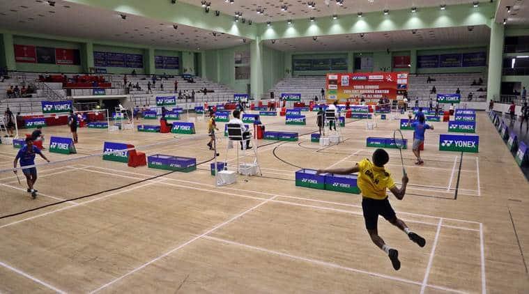 Panchkula Badminton touranment winners, Krishna Khaitan memorial tournament Panhkula, Chandigarh badminton tournament, Indian Express badminton news