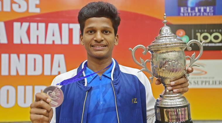 Panchkula Badminton touranment winners, Krishna Khaitan memorial tournament Panhkula, Chandigarh badminton tournament, Indian Express badminton news