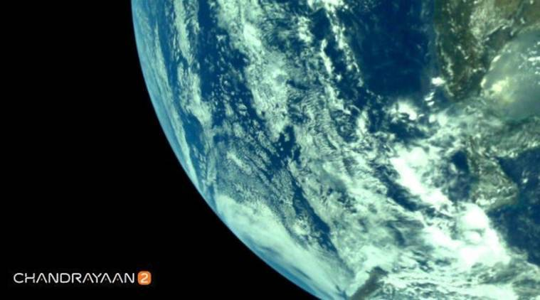 Chandrayaan-2 first images, Chandrayaan-2 launch, earth image Chandrayaan-2 launch, isro