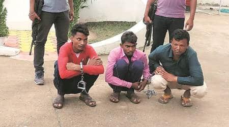 Chhattisgarh, Chhattisgarh constables arrested, Chhattisgarh constables arson, Chhattisgarh Maoist, Chhattisgarh constables loot, Chhattisgarh Maoist style loot, Indian express