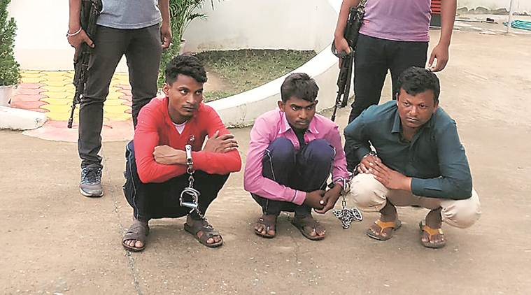 Chhattisgarh, Chhattisgarh constables arrested, Chhattisgarh constables arson, Chhattisgarh Maoist, Chhattisgarh constables loot, Chhattisgarh Maoist style loot, Indian express
