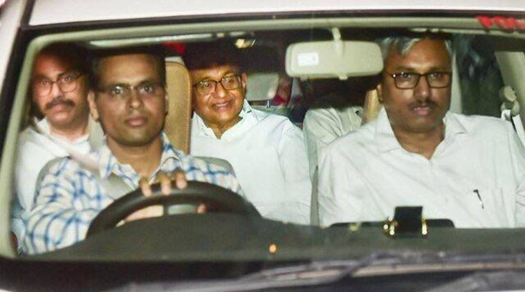 Image result for chidambaram arrested