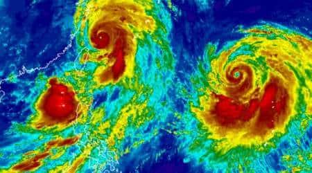 typhoon lekima, china typhoon, typhoon lekima china, china typhoon lekima, red alert in china, china red alert, world news, Indian Express