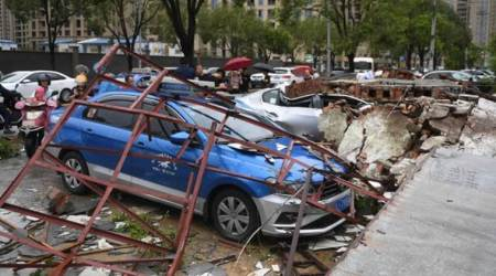 Typhoon in eastern China causes landslide, killing 18 people