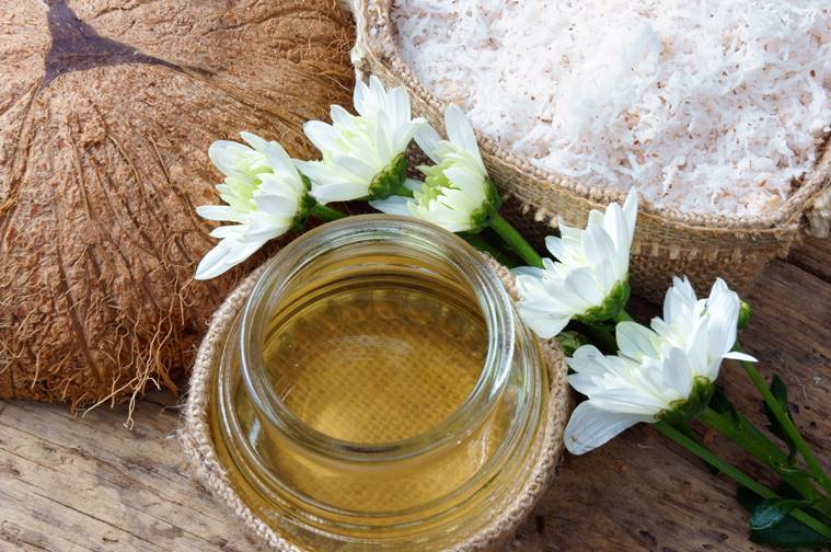 coconut oil, coconut oil in skincare, monsoon skincare, indian express