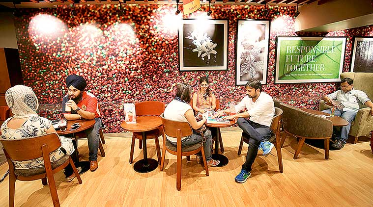 CCD, cafe coffee day, indian express, indian express news