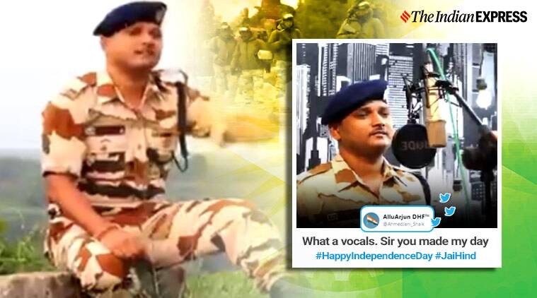 ITBP Constable dedicates song colleagues 73rd Independence Day, 73rd Independence Day, ITBP 73rd Independence Day viral video
