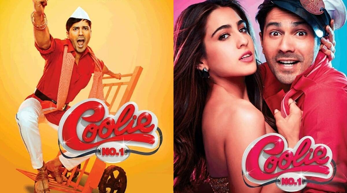 upcoming movie coolie number 1 by varun dhawan and saara ali khan
