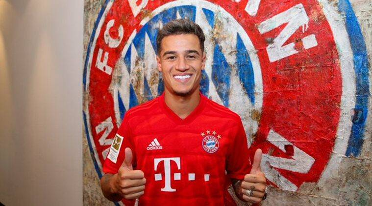 Bayern Munich sign Phil Coutinho on loan from Barcelona