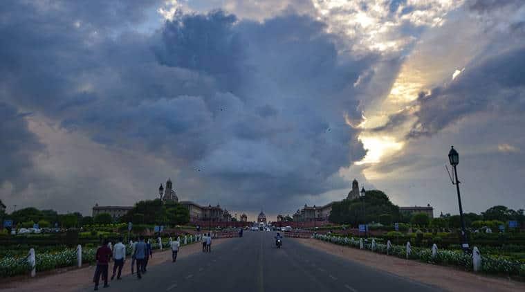 delhi air quality, delhi rains, delhi rainfall, delhi weather, weather forecast, indian express, delhi news, latest news, delhi pollution