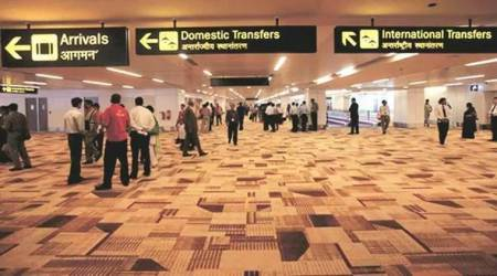 Delhi airport Spice Jet flight, Delhi airport news, IGI airport Indiogo flights T3, T3 T2 terminal Delhi IGIIndian Express