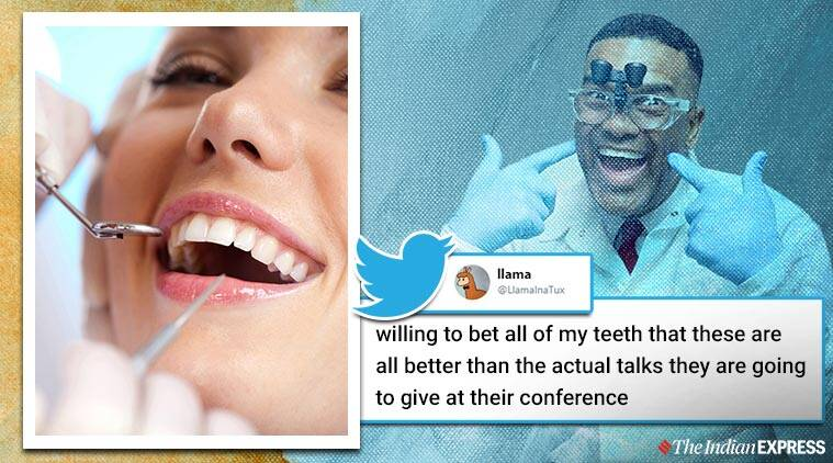 Comedian who mistakenly got invited for Dental talk, Comedian who mistakenly got invited for Dental talk trending, Trending, Indian Express news, Latest news