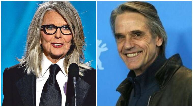 Diane Keaton, Jeremy Irons to lead rom-com Love, Weddings and Other Disasters