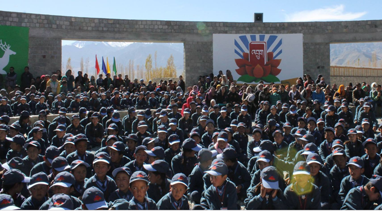 3 idiots, ranchos school in Ladakh, Druk Padma Karpo School