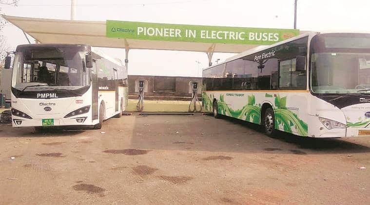Pune electric buses, Pune transportation, Pune Mahanagar Parivahan Mahamandal Limited, Bhekrai Nagar, Pune news