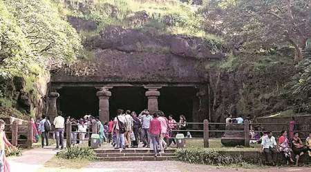 Mumbai Elephanta Caves route, ropeway project, ropeway, Mumbai, Elephanta Islands, UNESCO Elephanta caves, Environment Ministry, cable cars, Indian express