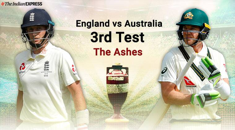 England Vs Australia 3rd Ashes Test Day 1 Highlights