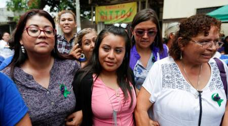 Salvadoran suspected of having abortion acquitted at retrial