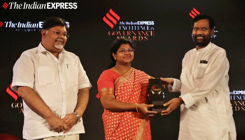 Indian Express governance awards, Indian express awards for governance, Indian Express governance awards photos, nitin gadkari, ram vilas paswan, ravi shankar prasad, indian express news