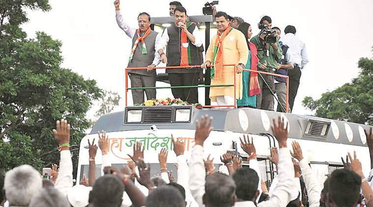 devendra fadnavis, devendra fadnavis maharashtra, devendra fadnavis rally, fadnavis nandurbar rally, article 370, jammu and kashmir