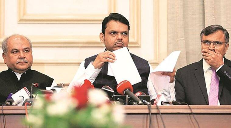 devendra fadnavis on essential commodities act, maharashtra cm, niti aayog proposal, gm crops, ministry of agriculture, mumbai news, indian express