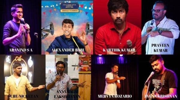 Tamil Stand-up Comedy, Stand-up comedians
