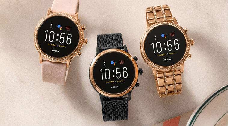 Fossil Gen 5 smartwatch, Qualcomm Snapdragon Wear 3100 platform, Wear OS by Google, smartwatch with inbuilt speaker, smartwatch with built-in speaker