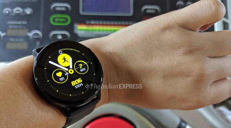 Samsung Galaxy Watch Active: Excellent design, good choice for fitness