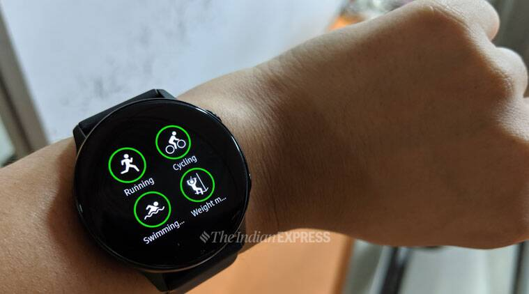 Samsung, Samsung Galaxy Watch Active review, Galaxy Watch review, Galaxy Watch Active review features, Galaxy Watch Active specifications, Galaxy Watch Active price, Galaxy Watch Active vs Apple Watch