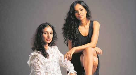 lakme fashion week, gaurika, nainika, designers gaurika nainika, rohit gandhi, designer rohit gandhi, rahul khanna, designer rahul khanna, fashion week, art and culture, Indian Express