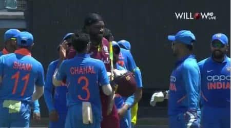 Chris Gayle retirment, Chris Gayle retires, Chris Gayle last ODI innings, Chris Gayle Virat Kohli, West Indies vs India 3rd ODI, WI vs IND 3rd ODI, IND vs WI 3rd ODI