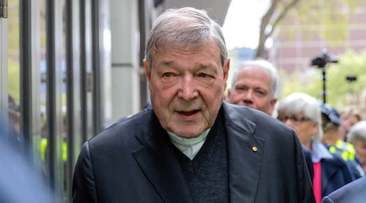 Cardinal George Pell, Cardinal George Pell sex abuse case, Cardinal George Pell case, Vatican money transfer case, World news, Indian Express