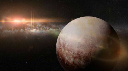 indian scientist name on pluto, Bishun Khare, Bishun Khare SETI, Bishun Khare scientist, International Astronomical Union, IAU, Bishun Khare NASA, Bishun Khare pluto, Khare crater