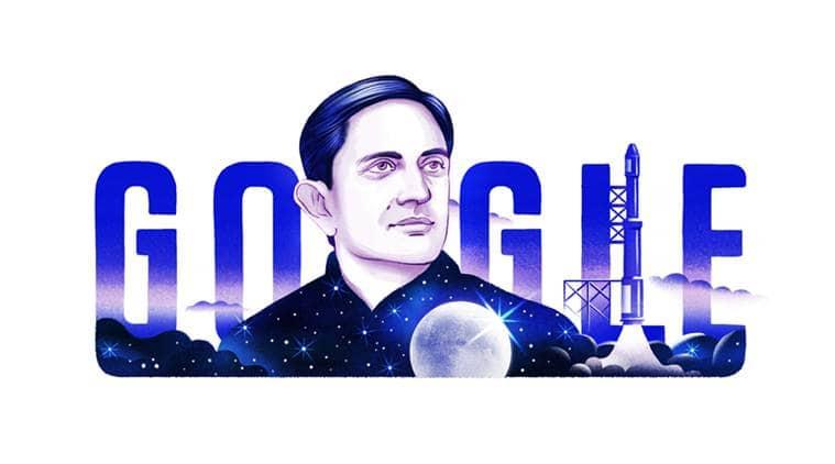 Vikram Sarabhai Google Doodle: Google celebrates the 100th anniversary of ISRO founder Vikram Sarabhai