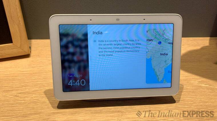 Google Nest Hub launched in India, Google Nest Hub, Google Nest, Google, Google Nest Hub specs, Google Nest Hub specifications, Google Nest Hub price, Google Nest Hub price in India
