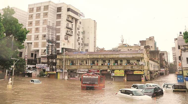 IMD issues warning of heavy rainfall in Gujarat till August 4