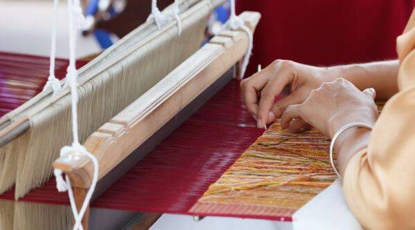 handloom weavers india, india handloom industry, handlooms coronavirus lockdown, handloom industry indian express