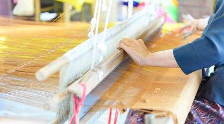 handloom day, national handloom day, weaves, indian weaves, indian express